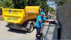 Ceyhanda Alo çöp taksihizmete girdi
