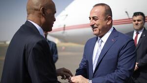 Mevlüt Çavuşoğlu Sudana geldi