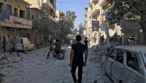 İdlib'de hava saldırılarında 2 kişi öldü, 27 kişi yaralandı
