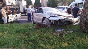 Aydında kaza: 1 ölü, 5 yaralı