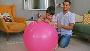 Minik Ömerin ailesi, tedavi için destek bekliyor