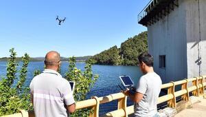 Barajlara dronelu koruma