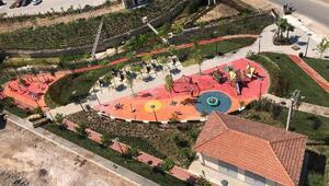İzmirde üç yeni park açıldı