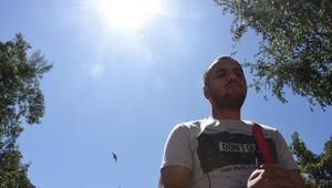Güneş tutulmasında görme yetisini kaybetti, hayata sporla tutundu