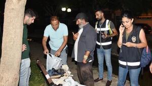 Polisten Huzurlu Park denetimi