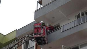 Çanakkalede ev yangını