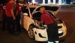 Adıyamanda iki otomobil çarpıştı: 10 yaralı