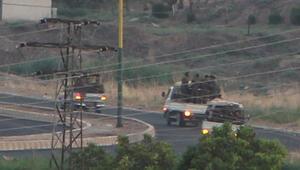 Bugün Mardinden görüntülendi 3 kamyonette 50 terörist...