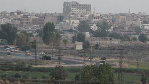 YPG'li teröristlerin Suriye'deki hareketliliği görüntülendi