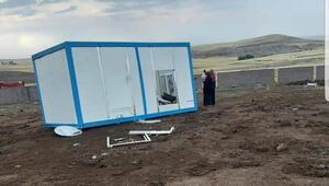Konya'da şiddetli rüzgar