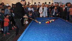 Sivasta 4 Eylül Bilardo Şampiyonası düzenlendi