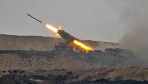 Tel Rıfatta terör hedefleri vuruldu