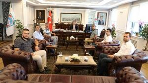 Başkan Palancıoğlu, halıcı esnafıyla buluştu