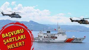 Sahil Güvenlik Komutanlığına 65 sözleşmeli personel alınacak