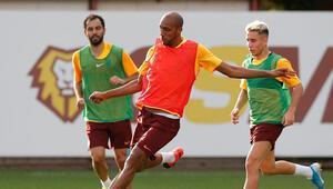 Galatasarayda yeni transfer ilk idmanına çıktı