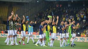 Fenerbahçe - Gazişehir maçından kareler