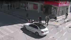 Burdurdaki kazalar Mobese kameralarında