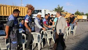 Başkan Palancıoğlundan şantiyeye ziyaret