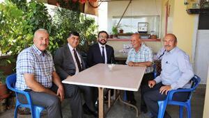 Başkan Fadıloğlu, Dülükbaba Mahallesi'ni ziyaret etti