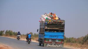 İdlib Gerginliği Azaltma Bölgesi'nde zorunlu göç sürüyor