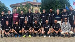 Beşiktaş efsaneleri sahada