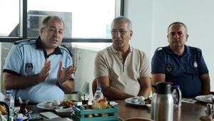 Zabıta müdürleri Mezitli Belediyesinde buluştu