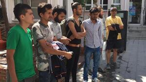 Keşanda 7 kaçak göçmen yakalandı