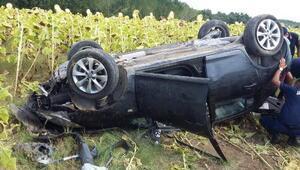Keşanda trafik kazası: 5 yaralı