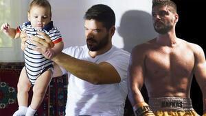 Tolgahan Sayışman ve oğlu kamera karşısına geçti