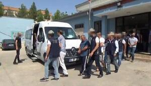 Şanlıurfada terör örgütlerine operasyon: 14 tutuklama