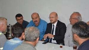 Başkan Özcan, Fen İşleri personelini ziyaret etti
