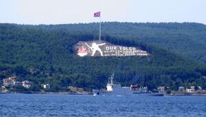 Rus araştırma ve istihbarat toplama gemisi, Çanakkale Boğazından geçti
