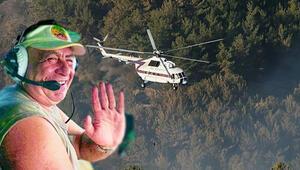 İzmir yangınında da görev yapmıştı Kahraman pilottan acı haber