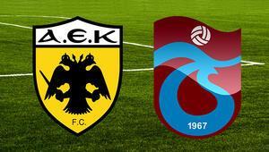 AEK Trabzonspor UEFA maçı ne zaman saat kaçta ve hangi kanalda
