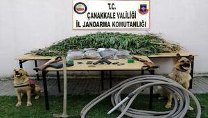 Çanakkalede uyuşturucu operasyonu