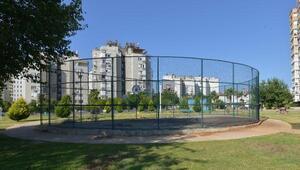 Muratpaşada yeni basketbol sahaları