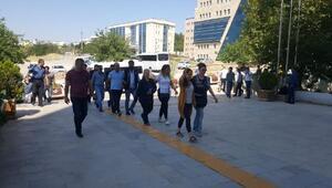 Elazığda PKK operasyonu şüphelileri adliyede