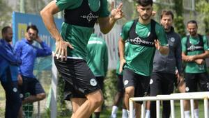 Konyasporda Galatasaray maçı hazırlıkları sürüyor