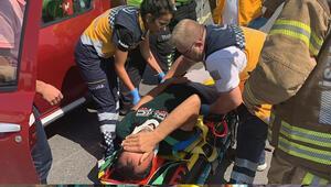 Son dakika: TEM otoyolunda zincirleme kaza: Yaralılar var...