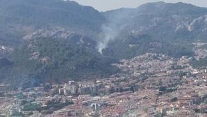 Son dakika...Marmaris'te aynı bölgede 4 günde üçüncü orman yangını