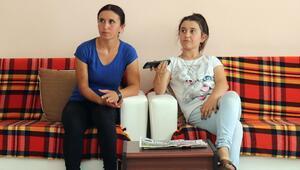 Mağdur aile Şefkat Evi'ne yerleştirildi