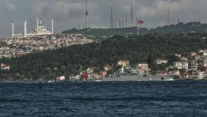 Rus gemisi Sezar Kunikov İstanbul Boğazından geçiş yaptı