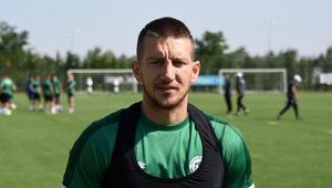 Konyasporlu Ferhat Öztorun: Galatasaray maçında iyi bir sonuç almak istiyoruz