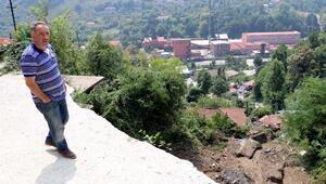 Zonguldaktaki sağanakta 30 konut, 1 okul ve 40 iş yeri zarar gördü