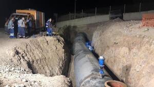 İzmirdeki 4 ilçeye su verilmeye başlandı