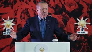 Cumhurbaşkanı Erdoğan, partisinin 18. kuruluş yıl dönümü dolayısıyla düzenlenen programa katıldı