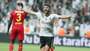 Beşiktaş - Göztepe maçından görüntüler