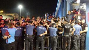 Trabzon'da Sturridge izdihamı