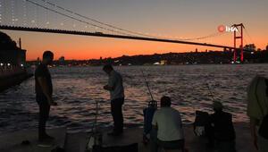 İstanbulda büyüleyen görüntü