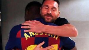 78 yıl sonra tarihi an! Messi böyle sarıldı...